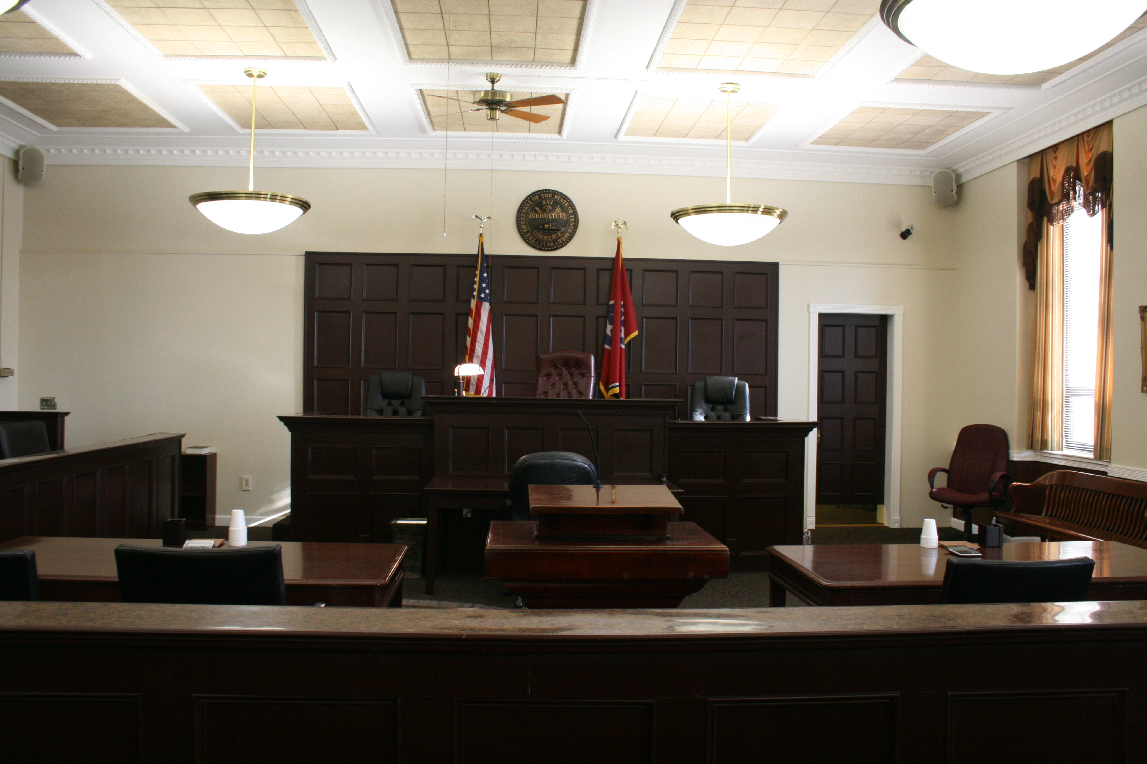 Madison County Chancery Courtroom
